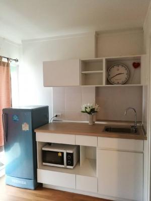For RentCondoRama9, RCA, Petchaburi : For Rent 9,500/month  LPN park rama 9 – ratchada  Floor 24th Size 26 sqm. Studio Fully furnished