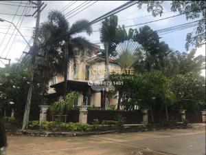 For RentHouseSathorn, Narathiwat : Large single house for rent, Narasiri Sathorn-Wongwan - 3 bedrooms, fully furnished