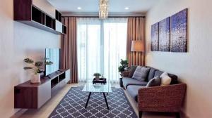 For RentCondoSathorn, Narathiwat : Condo for rent, Supalai Lite Ratchada, Narathiwas, Sathorn, beautiful room, fully furnished, city view