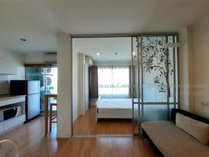 For RentCondoPattanakan, Srinakarin : Lumpini Ville Phatthanakan-New Petchaburi ** Two air conditioners, 1 washing machine ***