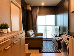 For RentCondoRatchadapisek, Huaikwang, Suttisan : For rent: Noble Revolve 1, next to MRT Cultural Center  1 bedroom, size 25 sqm., 14th floor, north balcony, beautiful view.