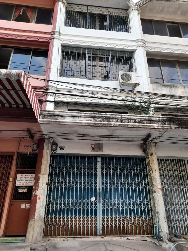 ขายตึกแถว อาคารพาณิชย์เอกชัย บางบอน : ขายอาคารพาณิชย์ สภาพดี เอกชัย-บางบอน 22.9 ตรว.
