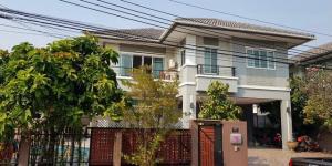 For SaleHouseBang kae, Phetkasem : House for sale at the corner of The Plant Bang Khae near MRT Lak Song area, 76.5 sq m, 3 bedrooms, 3 bathrooms, some built-in furniture.