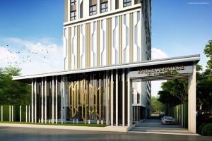 For RentCondoSamrong, Samut Prakan : Knightsbridge Sky River Ocean near BTS Pak Nam Ready to move in 26 sqm 8500 baht ❗️❗️FLASH SALE❗️❗️ Room available, add Line Line ID: @condobkk (with @ too)