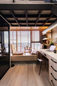 For SaleCondoOnnut, Udomsuk : M2516-Condo for sale and rent, The Line Sukhumvit 101, near BTS Punnawithi and 2nd stage expressway, ready to move in.