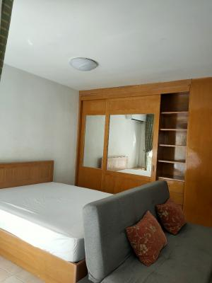 For RentCondoBangna, Lasalle, Bearing : 6,500 condo for rent, beautiful room, complete furniture and appliances Ready