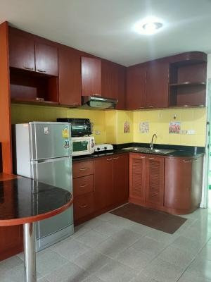 For RentCondoBangna, Lasalle, Bearing : Rent 7,000 garden view, beautiful room, fully furnished, ready to move in.