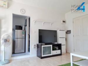 For RentCondoPattanakan, Srinakarin : For rent Dcondo On Nut Ladkrabang-Suvarnabhumi Beautiful room ready to move in.