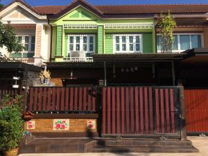 Sale DownTownhouseRama 2, Bang Khun Thian : Townhouse for 21 sq m., Furniture, built-in + air conditioning, convenient transportation, close to many amenities
