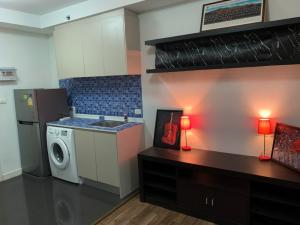 For RentCondoBangna, Lasalle, Bearing : !! Refrigerator + washing machine !! For rent 7,500 spaces me Bangna The owner released himself quickly.