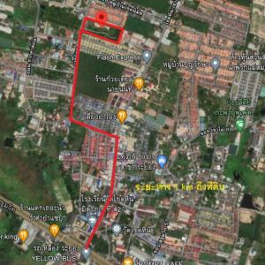 For SaleLandRayong : Land for sale in Rayong, Map Ta Phut, area 8-3-52 rai.