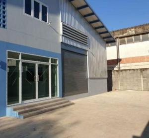 For RentWarehouseOnnut, Udomsuk : Home office for rent with new warehouse Srinakarin area near the expressway