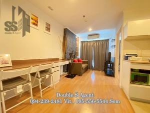 For RentCondoRattanathibet, Sanambinna : SS 151 # For rent, Lumpini Ville Phibulsongkram - River View, size 28 sq m, 25th floor #, beautiful room #, no afternoon sun