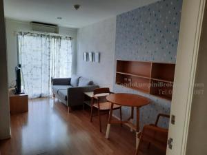 For RentCondoBangna, Lasalle, Bearing : Lumpini Ville Sukhumvit 109 - Bearing 1 bedroom, total area 30.18, floor 04, rental price (baht / month) 8,000 ฿