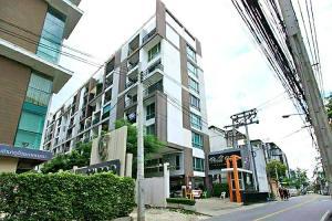For SaleCondoRatchadapisek, Huaikwang, Suttisan : Pano Ville for sale, Pano Ville Ratchada 19, ready-made condo, near MRT Ratchada 250 meters, 5th floor, area 53.46 sq m, 4.5 million baht.