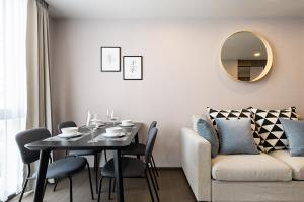 For RentCondoSiam Paragon ,Chulalongkorn,Samyan : Condo for rent Klass Condo Siam Price 25,000 Baht Size 44 Sqm Bedroom 1 Floor 3 View City