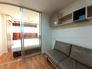 For RentCondoKhlongtoei, Kluaynamthai : Lumpini Place Rama 4 - Ratchadaphisek, 1 bedroom, total area 22.5, 5th floor, rental price (baht / month) 12,000 ฿