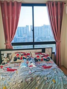 For RentCondoOnnut, Udomsuk : Urgent rental !! High floor, luxury room, friendly price, Artemis Sukhumvit 77