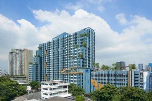 For RentCondoSapankwai,Jatujak : Lumpini Park Vibhavadi Chatuchak, near BTS Mo Chit, ready to move in, 25 sqm, 10000 baht.