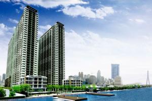 For RentCondoRama3 (Riverside),Satupadit : Lumpini Park Riverside Rama 3, ready to move in, 26 sqm, prices start at 8000 baht.