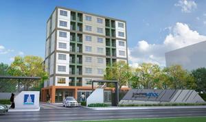 For RentCondoSamrong, Samut Prakan : Lumpini Mixx Thepharak Srinakarin, ready to move in, 22 sqm, prices start at 5000 baht.
