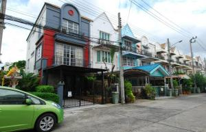For RentTownhouseKasetsart, Ratchayothin : Townhome, Soi Ladprao, Wang Hin 34, Chalisa Village, fully furnished, AN065