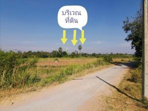 For SaleLandKorat KhaoYai Pak Chong : Very beautiful land on the road, next to the water, area 14-3-12 square wa (5,912 square wa) AN074