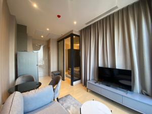 For RentCondoRama9, RCA, Petchaburi : Ashton Asoke-Rama9, alpha building, high floor, electrical appliances Fully furnished, beautiful decoration, special price 26,000 baht