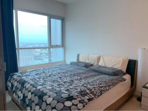 For RentCondoRatchadapisek, Huaikwang, Suttisan : 🔥 ฺ Best Deal🔥 @ Life Ratchadapisek (47.5 sqm.) 2 bedrooms, 1 bathroom, beautiful view, high floor, ready to move in.