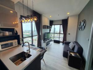 For SaleCondoOnnut, Udomsuk : 1 beautiful bedroom fully furnished Very special discount! @ Wyne Sukhumvit By Sansiri For sale only 4.2 million baht, call 0825425536.