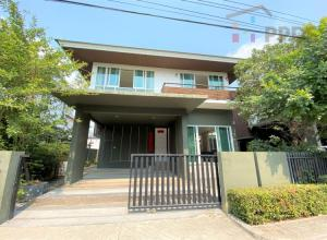 For SaleHouseBangna, Lasalle, Bearing : The owner wants to sell a single house, Nara Botanic, Srinakarin, Soi Lasalle.