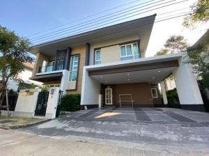 For RentHouseBangna, Lasalle, Bearing : Luxury detached house for rent, Ladarom-Bangna Km.7 project.