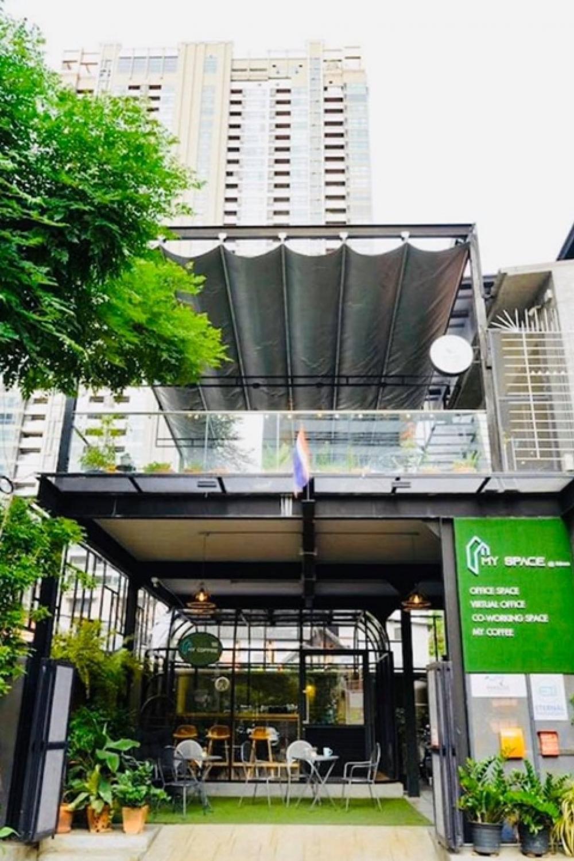 For RentOfficeSathorn, Narathiwat : Office rental Sathorn-Silom @BTS Surasak 550 meters.