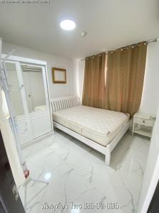 For RentCondoRamkhamhaeng, Hua Mak : For rent, Building E 6500 baht Lumpini Condo Town. Bodindecha - Ramkhamhaeng 43/1, ready to move in, 28 sqm.