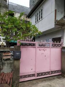 For SaleHouseRatchadapisek, Huaikwang, Suttisan : ✅ 2 storey detached house for sale, Soi Pracha Uthit 22, near MRT, size 52 sq m ✅