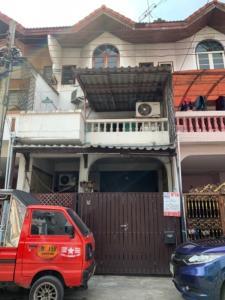 For SaleTownhouseKaset Nawamin,Ladplakao : 3-storey townhouse for sale, Panthong 3, negotiable price