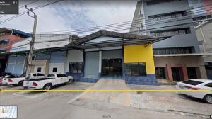 For SaleWarehouseSamrong, Samut Prakan : Land and buildings for sale consisting of two warehouses and 5-story office building.