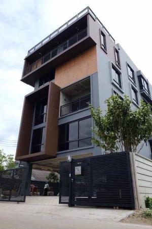 For RentOfficeChengwatana, Muangthong : For rent, new office, loft style Soi Ngamwongwan 47, 1.8 kilometers from North Park
