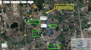 For SaleLandRangsit, Patumtani : Land 1-1-81 rai, Soi Boon Chuen Chuen Temple, Bang Phun, Pathum Thani