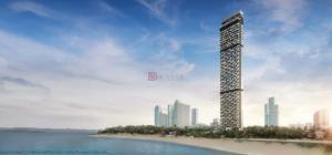 For SaleCondoPattaya, Bangsaen, Chonburi : Super Luxury Beachfront Condo in pattaya on Wongamat Beach