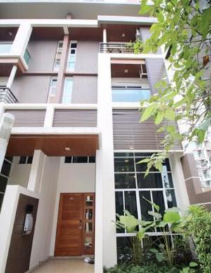 For RentTownhouseRama3 (Riverside),Satupadit : !!! Rent !!! Townhome Lumpini Park Riverside Rama 3