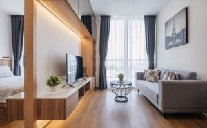 For RentCondoSukhumvit, Asoke, Thonglor : (Available) For rent Noble BE33, 1 Bedroom, 35 Sqm, Floor 7, New room, Fully Furnished, Bathroom with Japanese style bathtub.