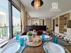 เช่าคอนโด : Venetian Signature Condo Resort Pattaya : เช่าขั้นต่ำ 1 เดือน/วางประกัน 1เดือน/ฟรีทำความสะอาด