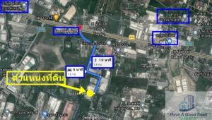 For SaleLandSamrong, Samut Prakan : Land 8-0-0 Rai Soi Land 24 (Bangna-Trad Km.23 inbound side)