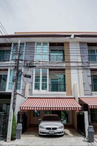 For RentTownhouseLadprao101, The Mall Bang Kapi : RTJ640ให้เช่าทาวน์โฮม3 ชั้นหมู่บ้านกลางเมือง ลาดพร้าว 87  แยก 10