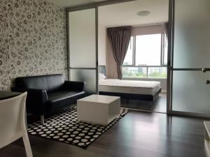 For RentCondoBangna, Lasalle, Bearing : Condo for rent, D Condo Campus Resort Bangna, 30 sq m. 8th Floor Building C