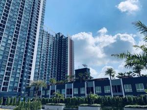 For RentCondoSamrong, Samut Prakan : For rent, The Metropolis @ BTS Samrong, 33 sq m, 1 bedroom size, special price only 9500 baht.