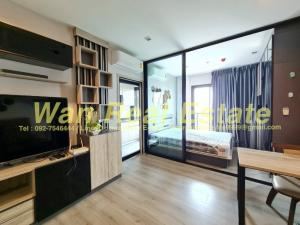 For RentCondoRattanathibet, Sanambinna : For rent, politan rive, 41th floor, size 31 sq m, river view, beautiful decoration, ready in the best position.