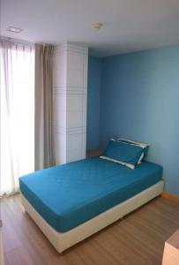 For RentCondoRatchadapisek, Huaikwang, Suttisan : Condo for rent, 2 bedrooms, 2 bathrooms, The Color Vivid Ratchada, 58 sqm., Corner room, 7th floor, fully furnished, near MRT Huai Khwang