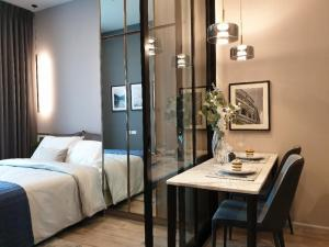 For RentCondoVipawadee, Don Mueang, Lak Si : Knightbridge Prime Ratchayothin, very wow price, luxuriously decorated room, ready to move in 15,000 baht, room size 28 sqm, 1 bedroom, 1 bathroom, make an appointment to see the room. Best value for money